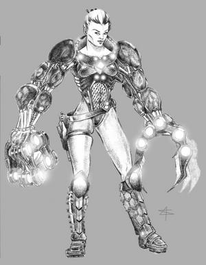 Polaran with combat rig