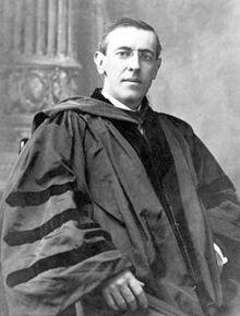 President Wilson of Princeton