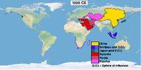 Timeline 1300s (Easternized World)