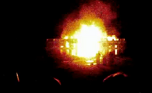 Second event of the White House burning