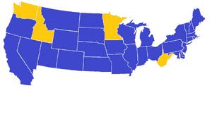 US 1980 Electoral Map CDM
