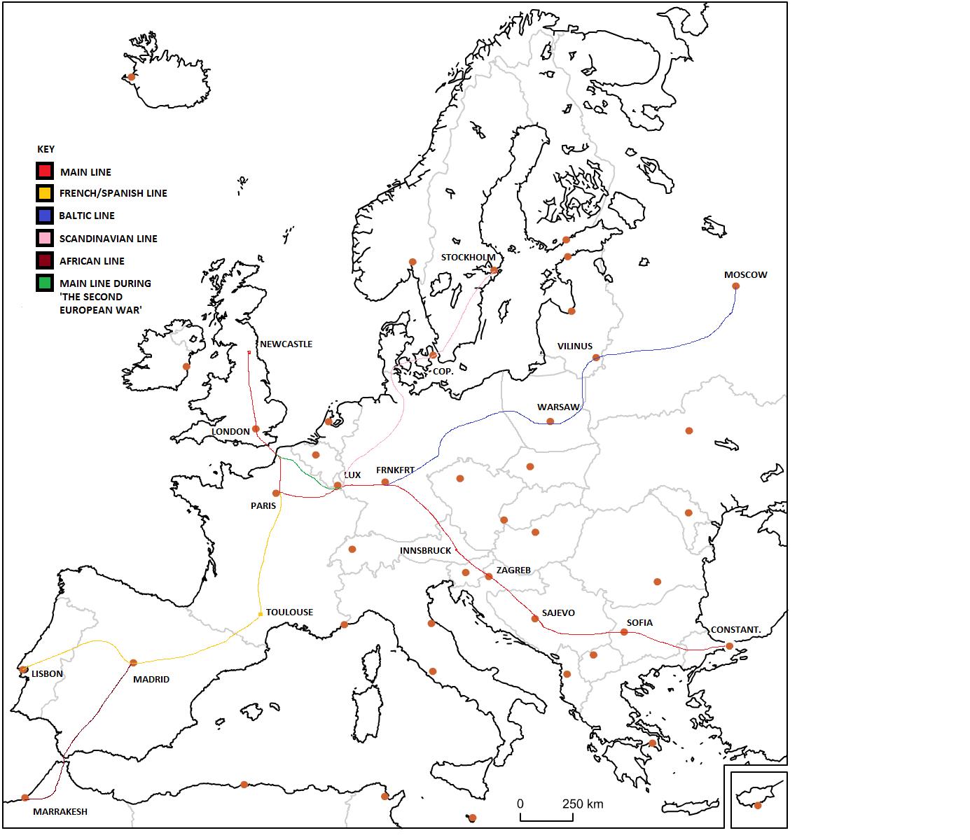 Grand European Railroad (The Great Cataclysm