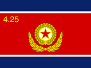 250px-Flag of the Korean People's Army svg