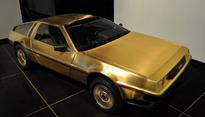 Gold DeLorean