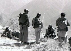 Mortar attack on Shigal Tarna garrison, Kunar Province, 87