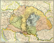 Gesta hungarorum map