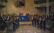 El General Roca ante el Congreso Nacional