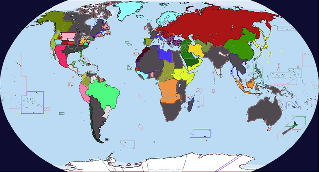 Diversa Pars Map Game 1938 Map