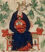 Henry I - British Library Royal 20 A ii f6v (detail)