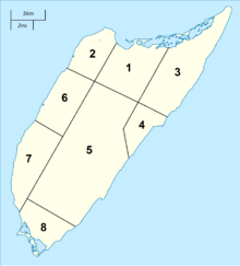 Districts of Cozumel