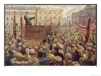 Vladimir-lenin-addressing-a-moscow-crowd