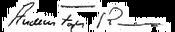 Anders Fogh Rasmussen signature
