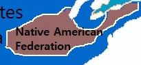 Native American Federation Map