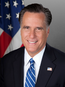 Official portrait of Mitt Romney
