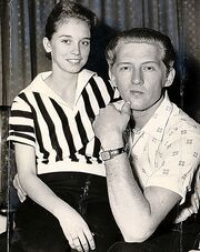 Jerry lee lewis and 13 year old cousin