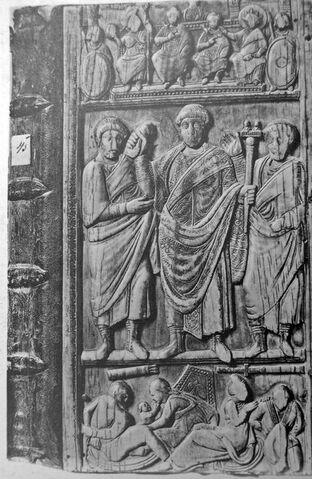 File:390px-Consular diptych Constantius III.jpg
