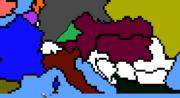 Austria-Hungary Gains