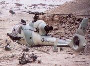 1983DD Qatar QAF Gazell Helicopter