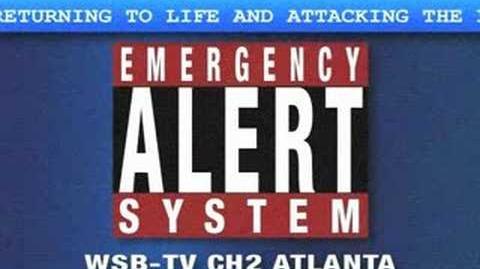 Zombie Emergency Alert System Warning (EAS)