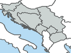 Map of Yugoslavia (1991)