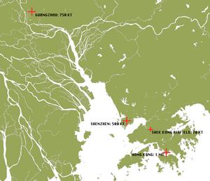 Pearl River Delta Pressure Damage and Fallout 1983
