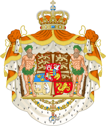 File:Royal Coat of Arms of Denmark by eric4e.png