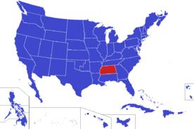 United States map - Mississippi (Alternity)