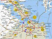 1983DD Hampton Roads Strike Zones