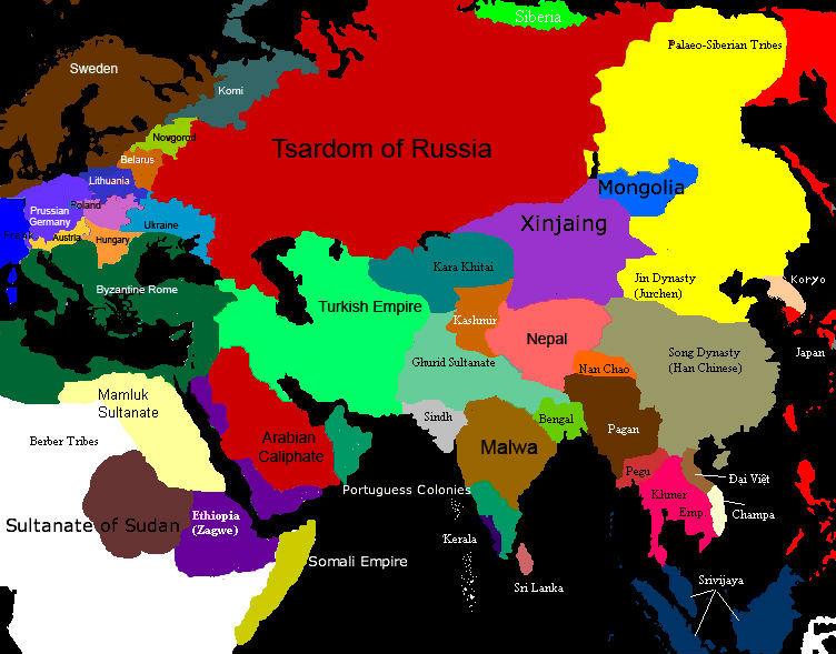 Map game eurasia