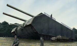 Landkreuzer P1500 Tank