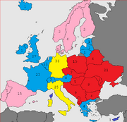 1960 european elections