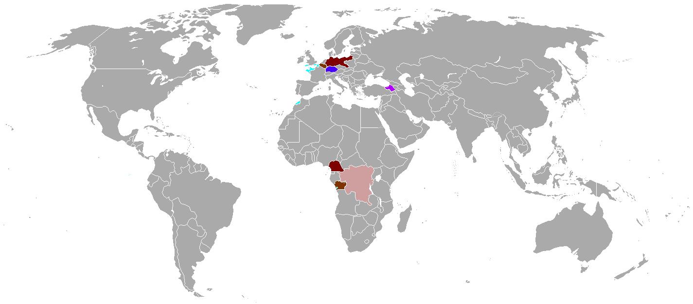 Mapa -of World Great War