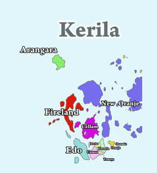 Map Kerila
