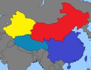 China Map GNW