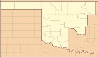 Oklahoma county map (Alternity)