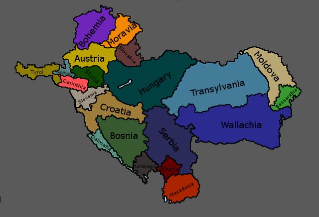 File:Map of Balkan States.png