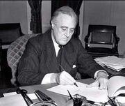 President Franklin D. Roosevelt-1941