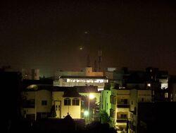 Dakar nighttime