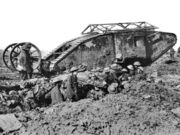 British-Mark-I-Tank-at-The-Somme