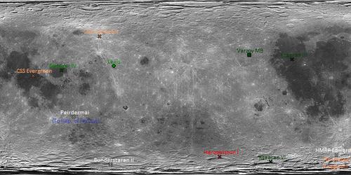 Fallen World Moon 1963.5