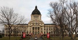 Dakota State Capitol, Linton, DA