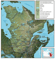 Map of Quebec (English)