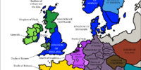 England in 1030 (Ethelred the Pious)