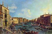 Giovanni Antonio Canal, il Canaletto - Regatta on the Canale Grande