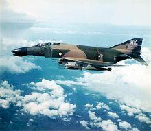 Welsh Phantom with Welsh & American markings - Vietnam War