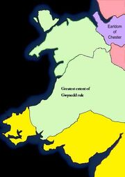 Civil War Gwynedd Conquest