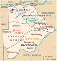 HCW 1995.Botswana map1