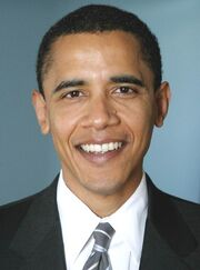 Barack Obama Senate portrait (2005)