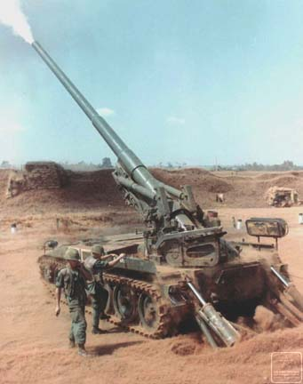 File:M107 artillery vietnam 6ht.jpg