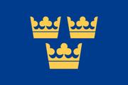 Flag of Sweden (Atomic Winter)